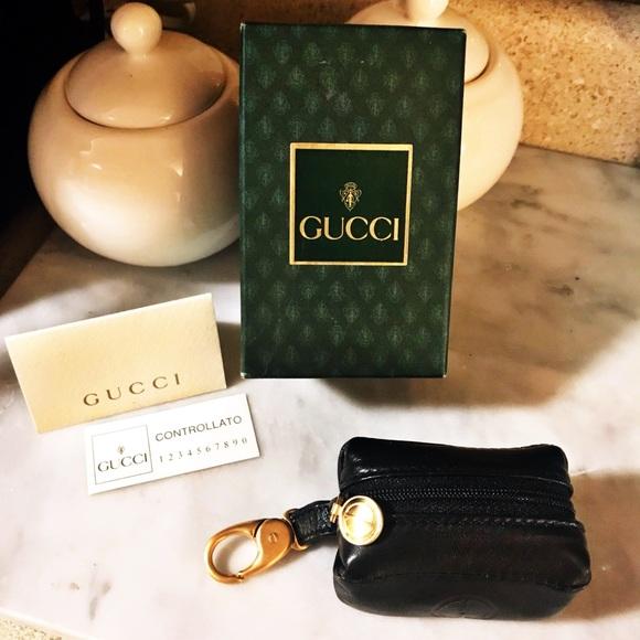 b36cc25d9ca Gucci Accessories - Auth. Gucci Rare GG Mini Coin Purse   Keychain